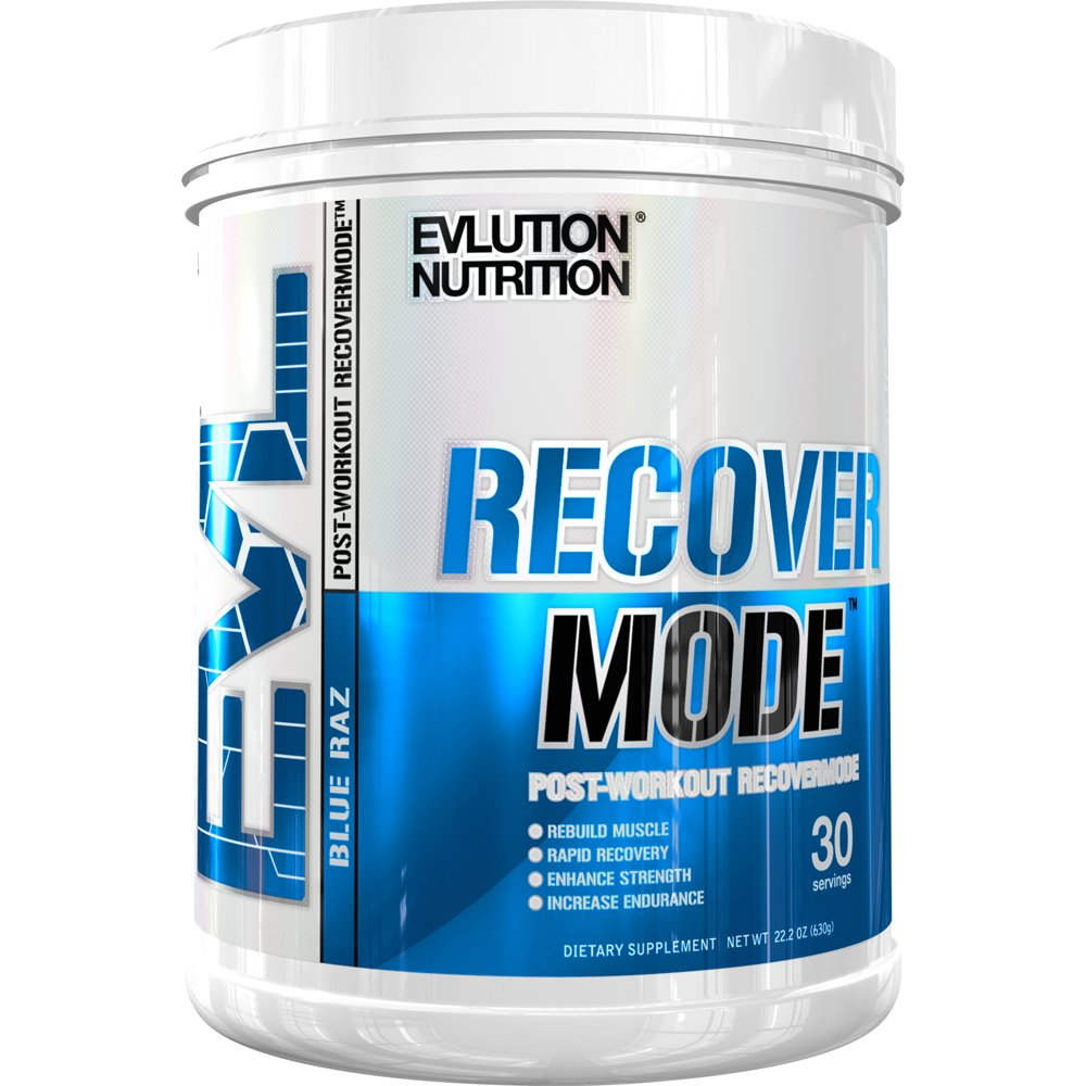 Get Quotations · Evlution Nutrition Recover Mode Post Workout With BCAA's, Creatine, Glutamine, Beta-Alanine