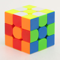 qiyi thunderclap 3x3 magic speed cube puzzle 3x3x3 cubo magico for educational toys kids learning toy brain teaser games