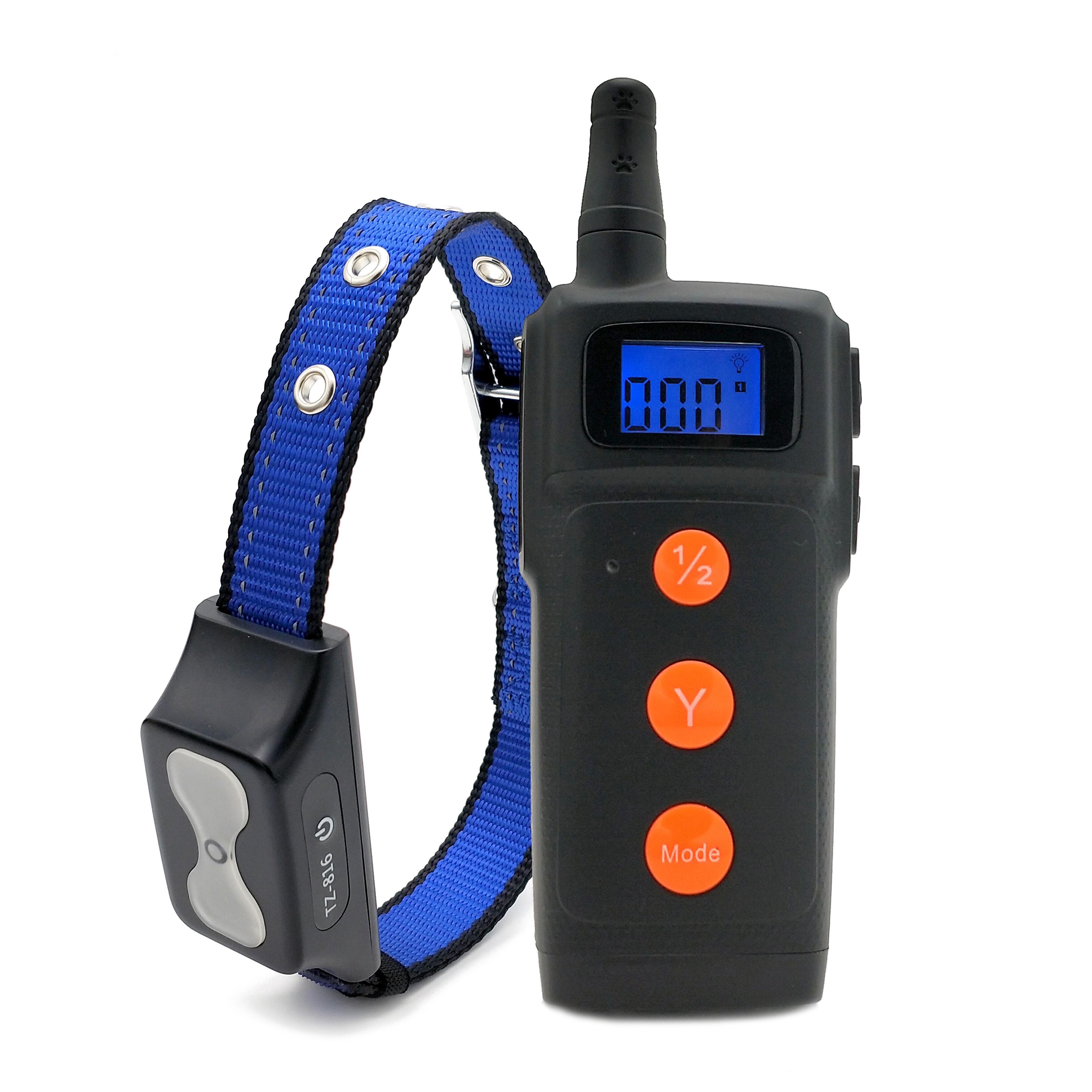ProfessionalSupplier Fernbedienung Hund Ausbildung Kragen Wibration Und Pfeife 500M Anweisungen Beste Remote Hund Ausbildung Kragen
