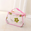 New Women Plastic Cosmetic Bag Clear Handbag Make-up Bag