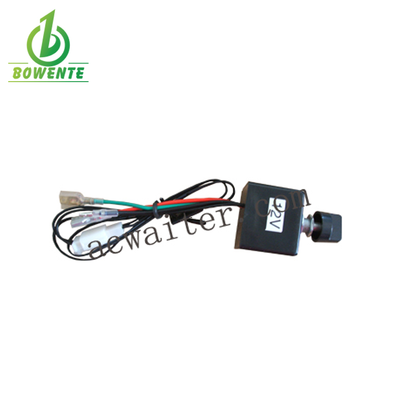 DC 24V 10A Rotary Switch Temperature Controller for Evaporator A//C System