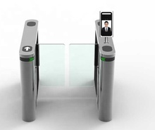 Face Recognition Swing/Flap Turnstile Gate สำหรับ Gym