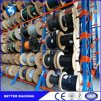 Industry Warehouse Storage Slective Cable Reel Rack Buy