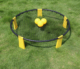 High quality combo meal outdoor beach Spikeball game for adults