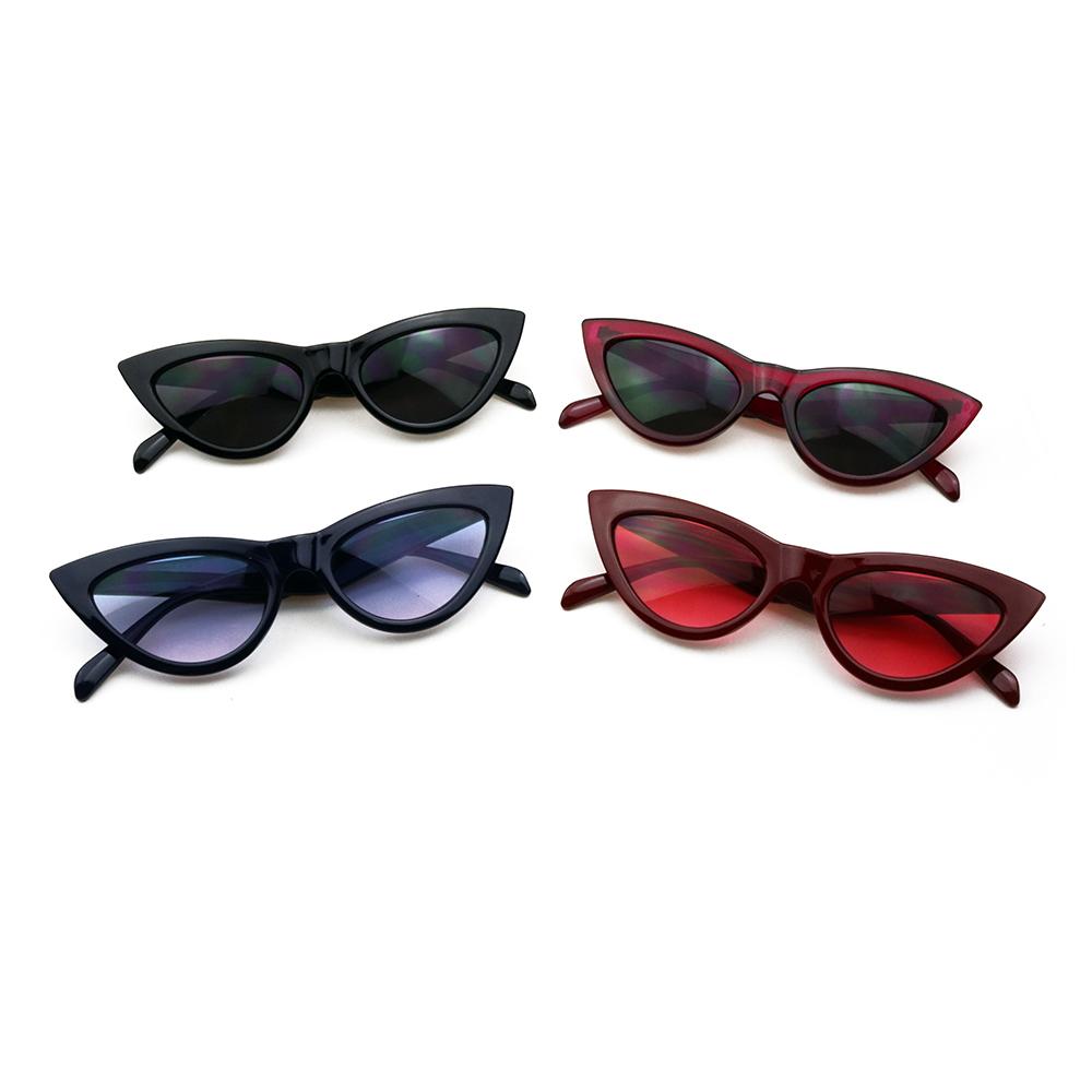 ded049589b9 Yi2-1 Fashion 2018 Retro Cat Eye Polarized Acetate Women Small Triangle  Vintage Sunglass Cheap Red Female Uv400 Sun Glasses - Buy Sunglasses 2018