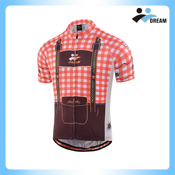 DREAM SPORT 2017 Custom new design cheap quick dry cycling jersey set