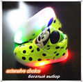 Hot new 2016 mickey kids Lighted up shoes children led luminous shoes with light kids children