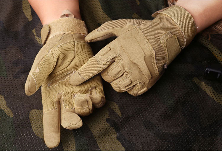 Outdoor tactical gloves safety hunting hand gloves