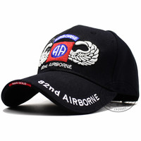 82nd Airborne Division with Wings Embroidered Ball Cap Troops 3D US Army Baseball Cap USA Tactical Hat Trucker hat STOCK