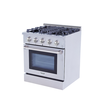 Hyxion definition Commercial 4 Burners Gas Ranges Oven