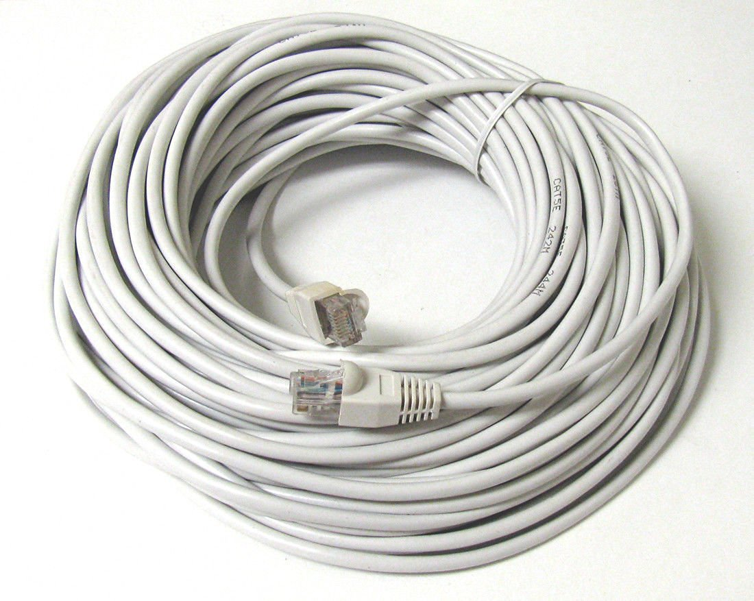 150FT 150 FT RJ45 CAT5 CAT 5 HIGH SPEED ETHERNET LAN NETWORK WT PATCH CABLE