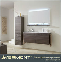 waterproof double sink bathroom vanity storage cabinets