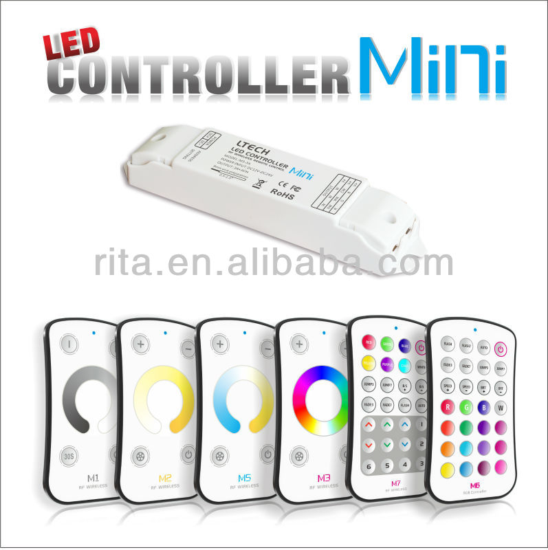 new product!!! led mini rgb controller,mini dimmer;touch controller