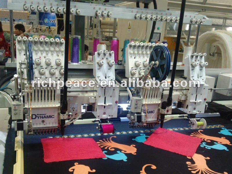 Richpeace Computerized High Speed Laser Cutting Embroidery Machine