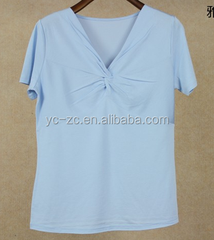 High quality bulk blank t shirts plain t shirt women Bulk quality t shirts