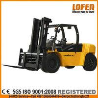 lONKING Diesel Forklift LG80DT 8 ton forklift WITH ISUZU 6BG1 ENGINE