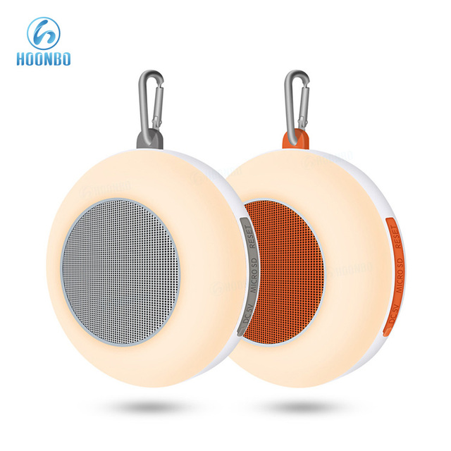 Portable IPX6 Waterproof Night Light LED Bluetooth Speaker