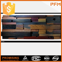 PFM best price natural well wood mosaic old ship wood mosaic