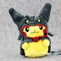 Anime Pikachu Plush Toy Kawaii Pikachu Cosplay Rayquaza Stuffed Doll Christmas Gift for Kids 20cm