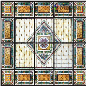 2014 tiffany stained glass ceiling panel