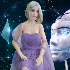 2018 artificial intelligent sex robot Emma is not just a silicone sex doll for men sex