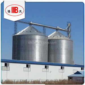 alibaba china 5000t grain storage silo bin selling popular in feed mill