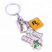 Wholesale metal GTA keychain witn No MOQ