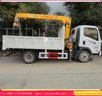 Sinotruk howo 4x2 mini truck crane , truck with crane, truck with crane 2 ton new