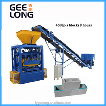 small brick production line QT4-26 hollow concerete block making machine