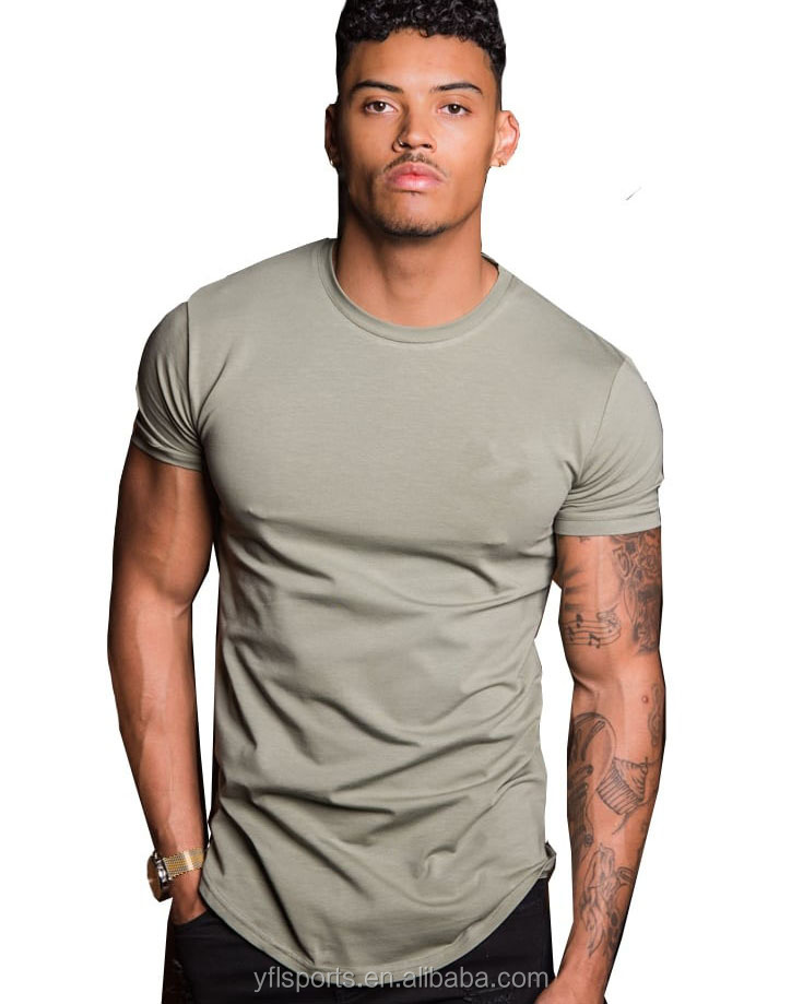 Hot Sale Cotton Spandex Workout Dry Fit Gym wear mens clothing