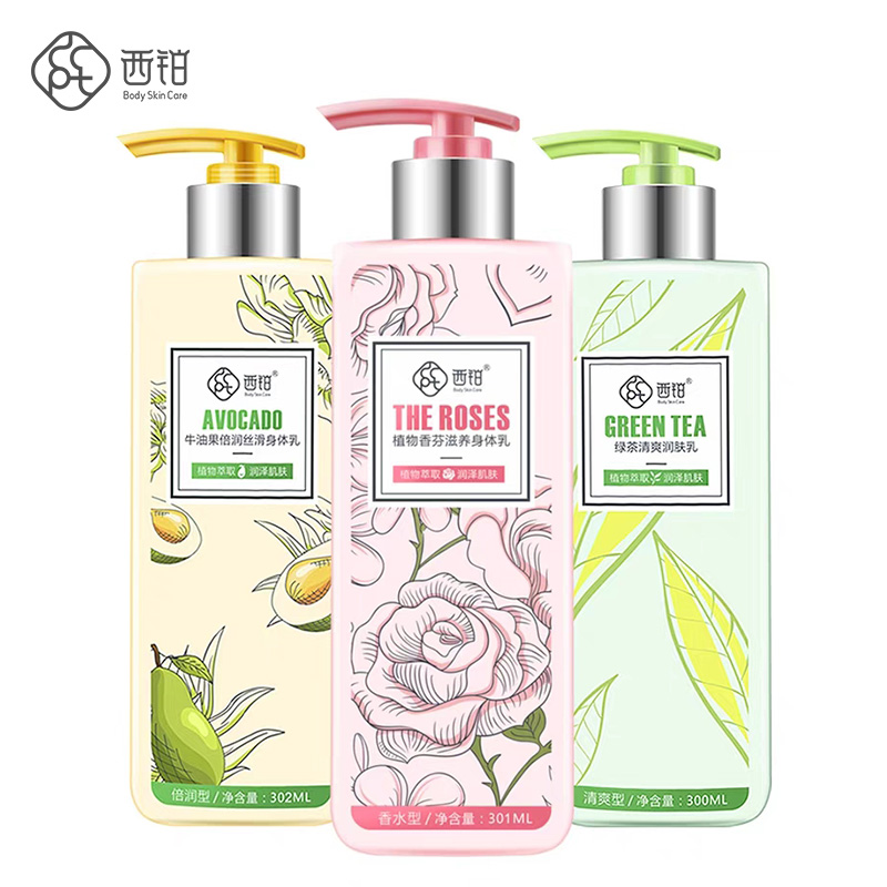 Lock water alle dag geur rose groene thee en avocada bodylotion
