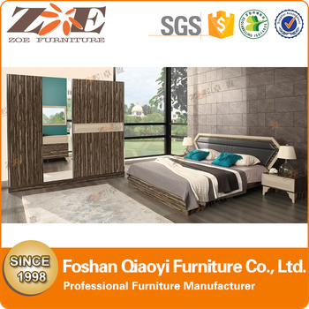 modern hot sale queen size bed wooden bed boy08