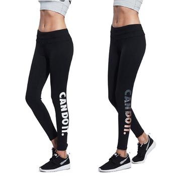6f1e9e2be02951 Fashion letters design fitness yoga pants plus size workout leggings for  women