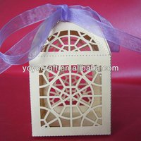 Unique design!Various colors window wedding box souvenirs box free logo MOQ 100pcs white cupcake boxes