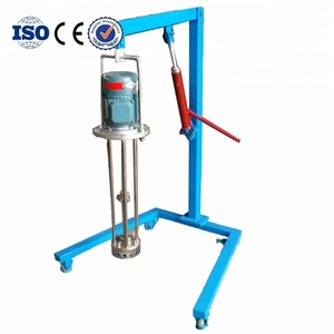 Low Price moveable pneumatic lifting homogenizer mixer with Long Service  Life