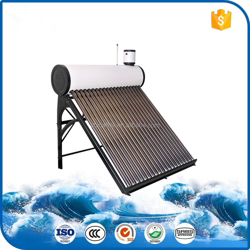 Feeding Cold Water Automatically Non Pressure Solar Water Heater