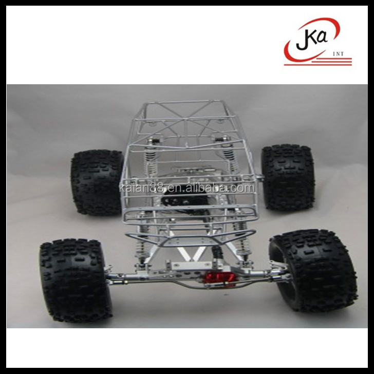 JKA RC Rock Crawler Truck with 4 Wheel Steering 1/10 Scale 2.4G 4WD
