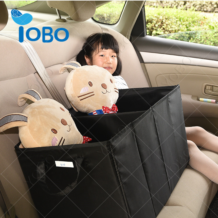 Factory price factory supply car boot storage trunk organizer baskets fabric storage box for car