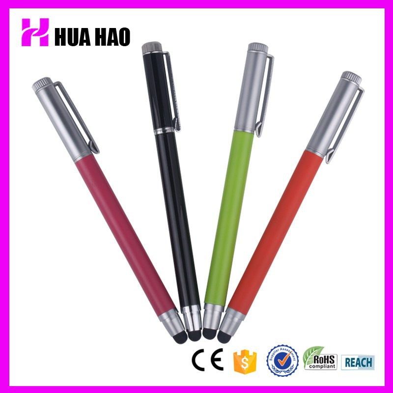 High quality promotional touch ballpen/ball pen with touch