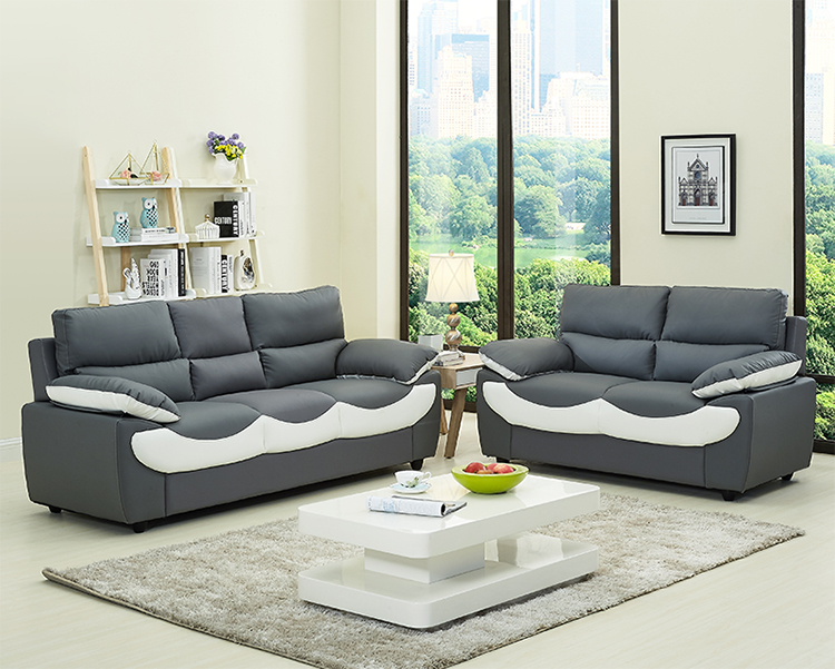 Executive Living Room Leather Sofa 5 Seater Sofa Set Designs With