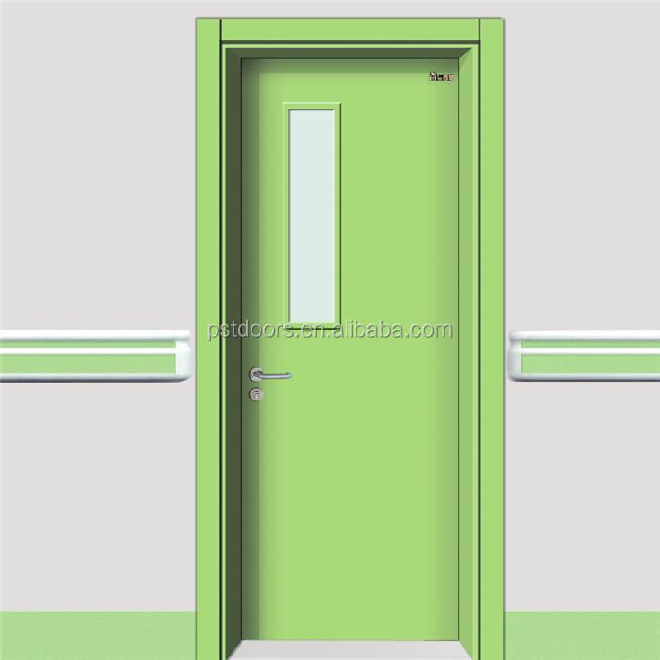 European style hospital interior doors, sliding and swing door