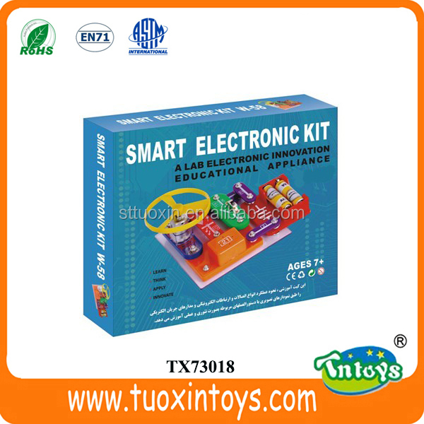 KID Educational Appliance Circuit Board Electronic Block Science kit