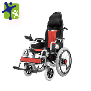 Iron Folding Lithium Battery Power Electric Wheelchair