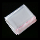 Crystal Clear Plastic OPP Poly Bag With Self Adhesive Strip Tape