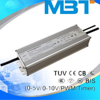 200w 0-5V, 0-10V,PWM 70-1050 mA constant voltage dimmable led driver for led light mbt