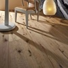antique looking oak engineered wood flooring // aged oiled oak engineered wood flooring