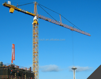 Tower Crane 65m height tower crane 8 ton manufacture china