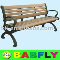 outdoor leisure bench wooden leisure bench