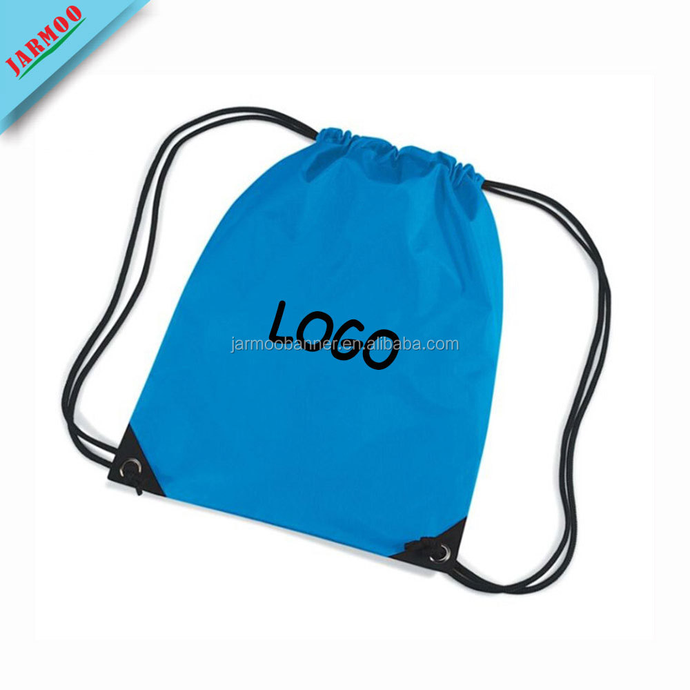 Wholesale Light Top Quality Plain Drawstring Bags