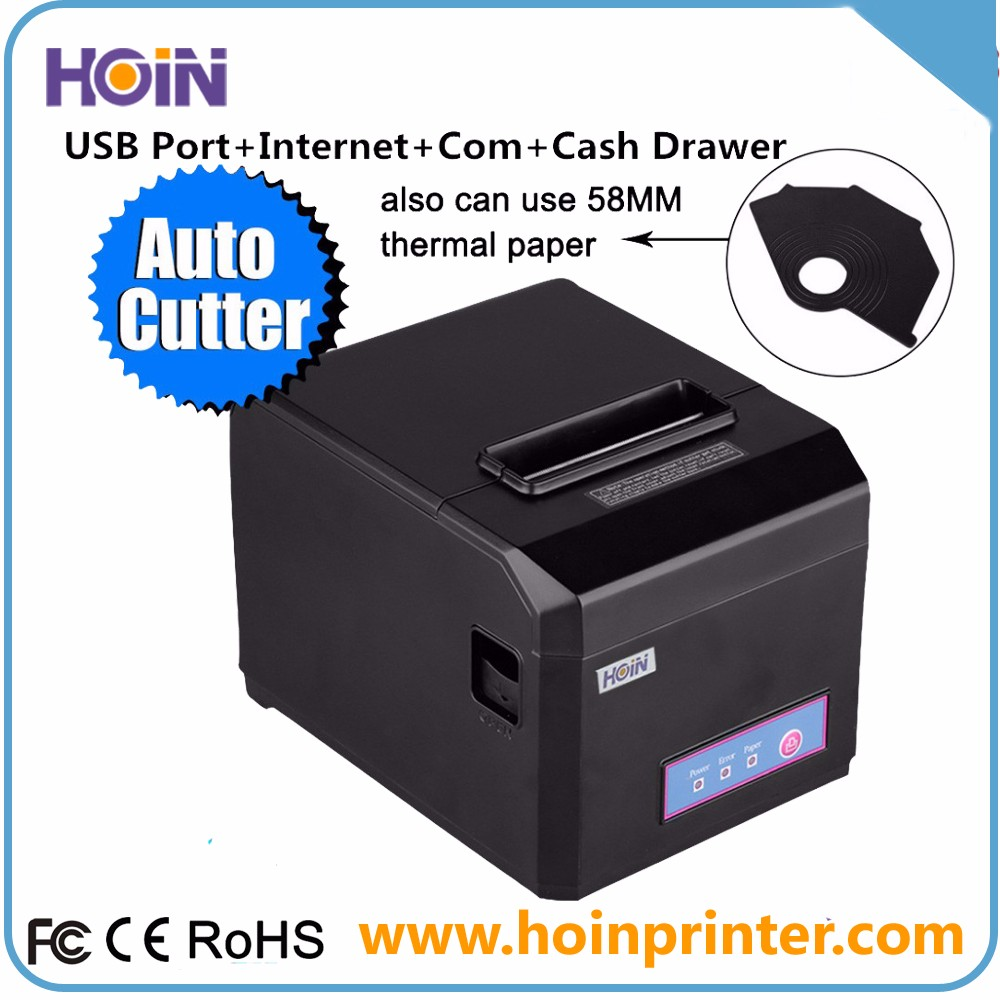 New Product Auto Cutter Fast Speed 80mm Thermal Receipt Printer Machine